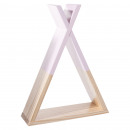 pink tipi shelf, pink
