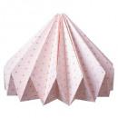 lanterna origami stampata, rosa