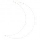 wholesale Decoration:Moon shape 40, white