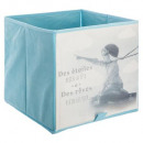 storage bin photo blue gray, blue