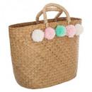 borla cesta para niños, multicolor