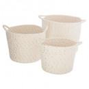 basket cotton x3 lurex, multicolored