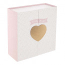 heart gold heart box, gold