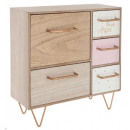 wholesale furniture: storage 5 drawers feet, multicolored