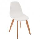 wholesale Garden & DIY store: white polypropylene chair, white