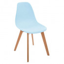 polypropylene chair blue, blue