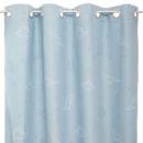 wholesale Curtains & Drapery: blackout curtain glow dino 140x250, blue