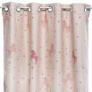 glow licor blackout curtain 140x250, light pink