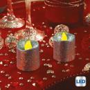 ljus led votive glitter minx2 arg