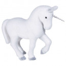 unicorn decoration glitter h24cm
