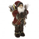 decoracion santa claus pie tradi 45cm