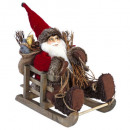 decoration Santa Claus 30cm s / sledge
