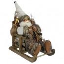 decoration Santa Claus 30cm s / sledge