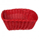 square polypropylene basket, 4- times assorted , m