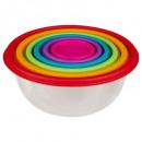 boite plast ronde x6 colors, 6-fois assorti, multi