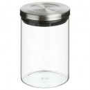 vaso + jarra de acero inoxidable 600ml, plata