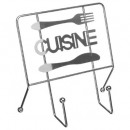 wholesale Fashion & Apparel: kitchen book holder, silver