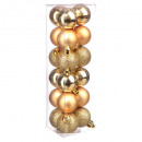 christmas ball 30mm x18 gold