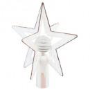 artificial fir tree crest 3d star ball