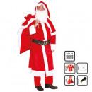groothandel Speelgoed: volwassen kleding voor de kerstman h 4pc tu