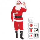vestido de Papá Noel adulto h 6pc tu