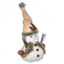 christmas ball decoration pm bark + wood h32cm