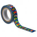 Großhandel Geschäftsausstattung: Deko-Klebeband 10mx1,5cm, 6- fach sortiert