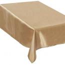 gold satin tablecloth 140x360