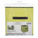 tároló doboz zöld 31x31 pl. zöld
