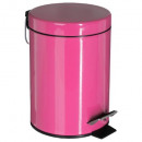 grossiste Articles ménagers: poubelle metal 3l rose, rose