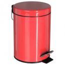 Poppy metalen vuilnisbak 3L, donkerroze