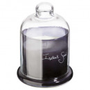 scented candle cl ins su loyd 650g, dark gray