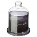 scented candle cl dou co loyd 650g, dark gray