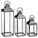 stainless steel lantern ext rctx3 hmax78, silver
