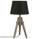 abj cone mirror lamp miry h46, black