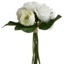 bouquet white flowers h30, assorted colors