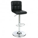 stool bar pu black delek, black