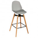 stool bar pu gray wilio, gray