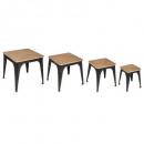 mesa torof x4, negro