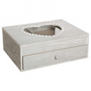 wholesale Jewelry & Watches: jewelry box 1 shot heart gm, gray