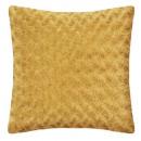Cojín horno de bucle oc 45x45, amarillo ocre