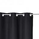 zwart isolatiegordijn 140x260, zwart