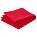 handdoek tafel ctn rood x4, rood