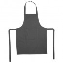 wholesale Kitchen Gadgets: apron 1 p ctn gray f60x80, dark gray
