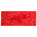 rug decorated letters 50x120, 3- times assorted ,