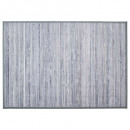 tapis bambou latte l gc120x170, gris clair