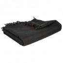 jete de lit noir 160x220, noir