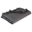 cabezal de cama gris 160x220, gris