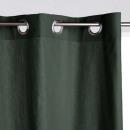 Panama Vorhang Zeder 140x260, Zederngrün