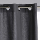 wholesale Curtains & Drapery: panama gf 140x260 curtain, dark gray